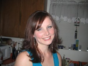 Me, from the drinking days. The makeup, hair and clothes hid an unhappy girl - even from myself.