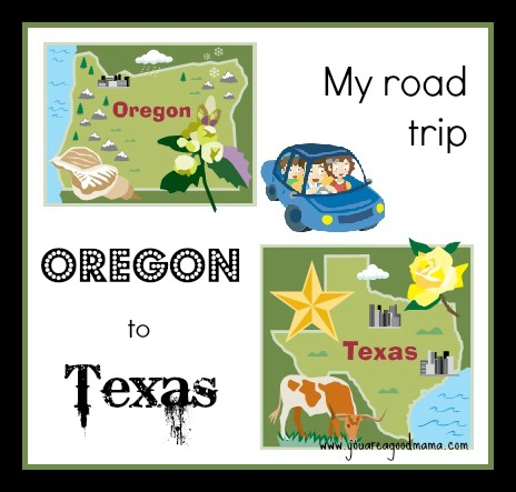 Driving from Oregon to Texas